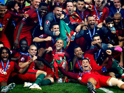Portugal, campeona de la EURO 2016