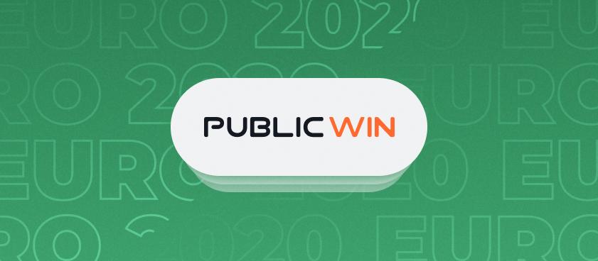 Pariuri si cote la Publicwin pentru EURO 2020