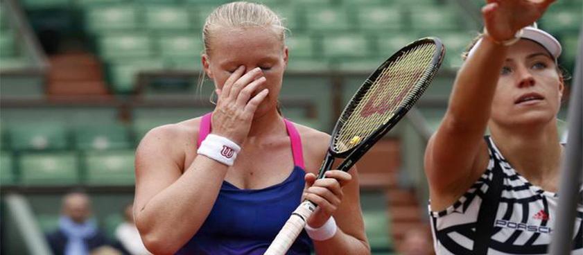 Pontul din tenis Turneul Campioanelor Kerber vs Bertens