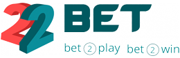 The logo of the bookmaker 22Bet - legalbet.ng