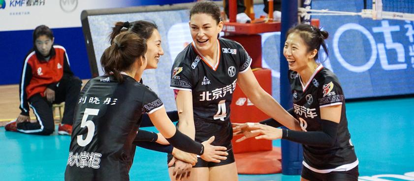 «Шанхай» (жен.) – «Пекин» (жен.): прогноз на волейбол от VolleyStats