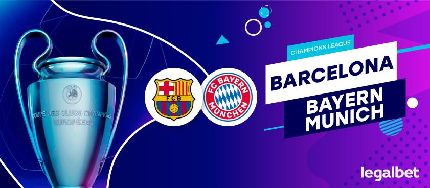 Previa, análisis y apuestas Bayern Munich - FC Barcelona, Champions League 2020