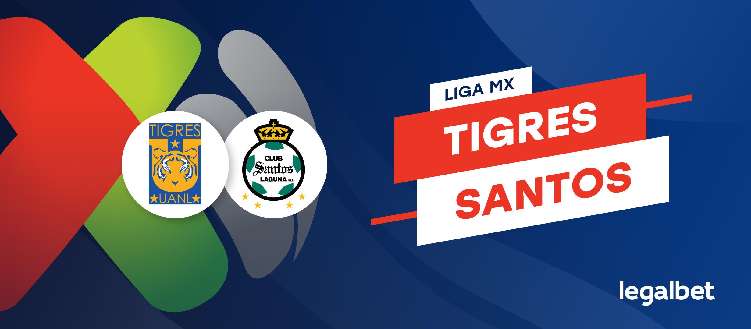 Previa y Analisis Tigres - Santos, Liga MX 2021