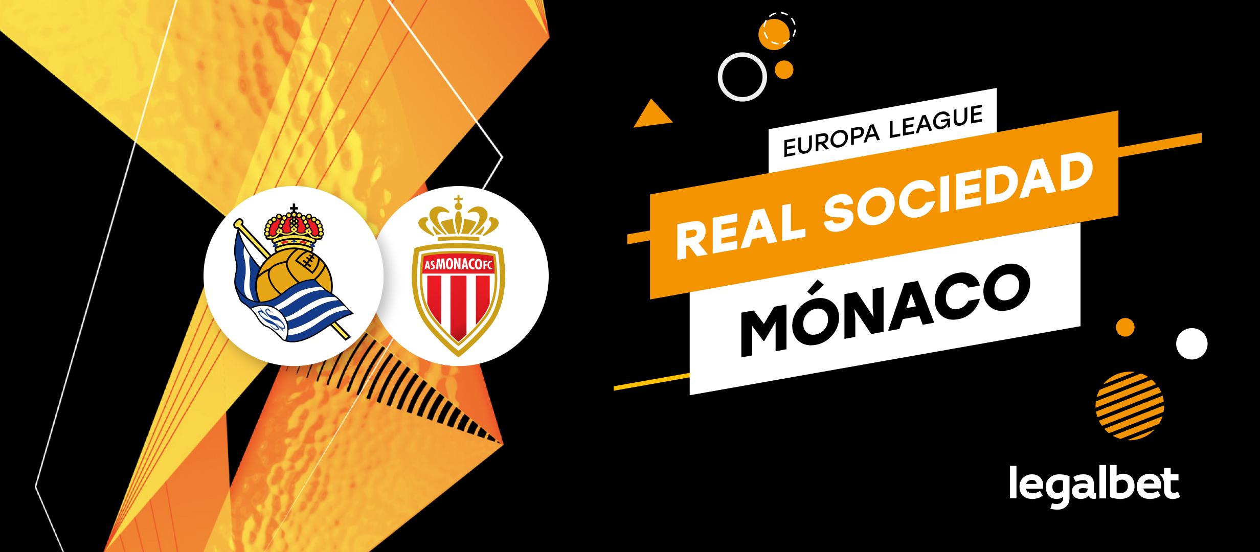 Apuestas y cuotas Real Sociedad - Mónaco, Europa League 2021/22