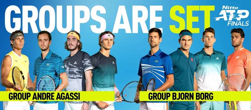 Федерер vs NextGen: полуфиналы Итогового турнира ATP пройдут без двух первых ракеток мира