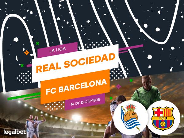 Legalbet.es: Previa, análisis y pronósticos Real Sociedad - FC Barcelona, La Liga 2019.