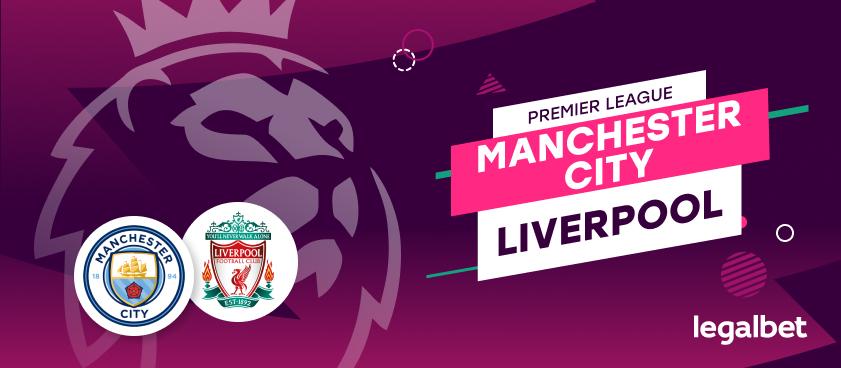Apuestas y cuotas Manchester City - Liverpool, Premier League 2020/21