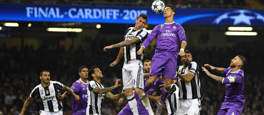 Champions League: Pronóstico Juventus - Real Madrid 03.04.2018