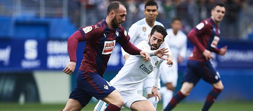 Прогноз на матч «Эйбар» — «Реал Мадрид»: смогут ли «сливочные» обыграть «домашнюю» команду