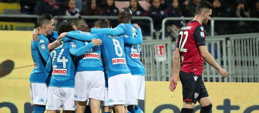 Napoli - Cagliari. Pronosticuri Serie A