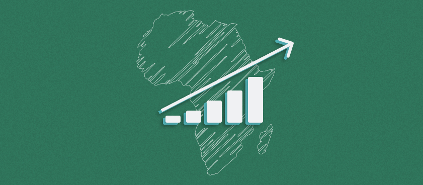Over the next 5 years Africa's gambling revenues are projected to grow by 150%