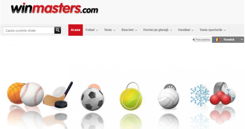 casa de pariuri online winmasters