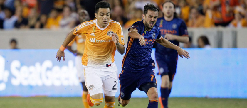 Houston Dynamo - New York City. Pontul lui Wallberg