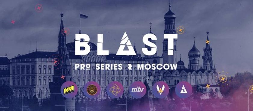 Ставки на победителей BLAST Pro Series: Moscow 2019