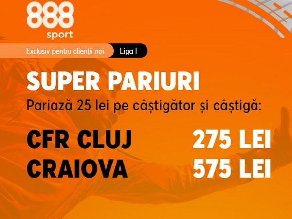 legalbet.ro: U Craiova e obligată să câştige la Cluj ca să mai aibă o şansă la titlu.