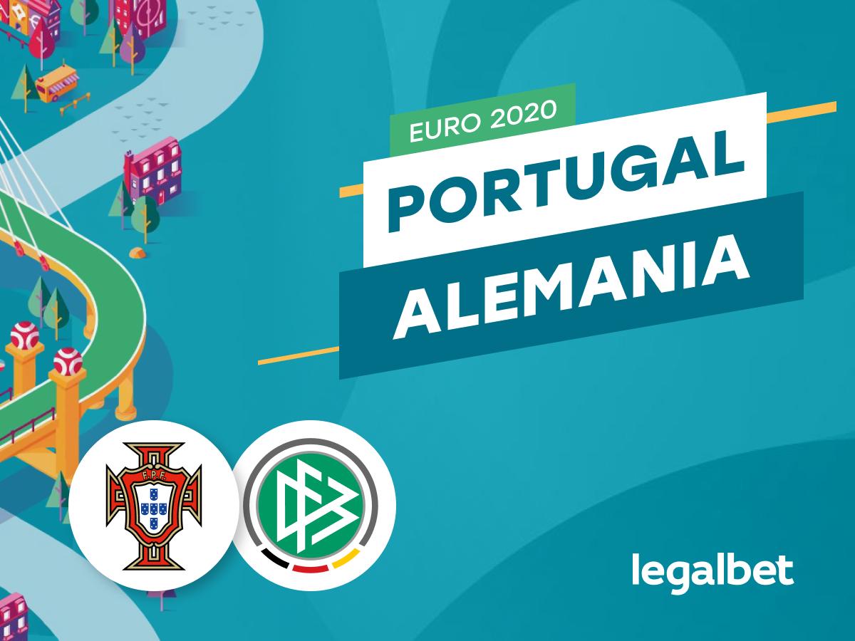 Antxon Pascual: Apuestas y cuotas Portugal - Alemania, Euro 2020.