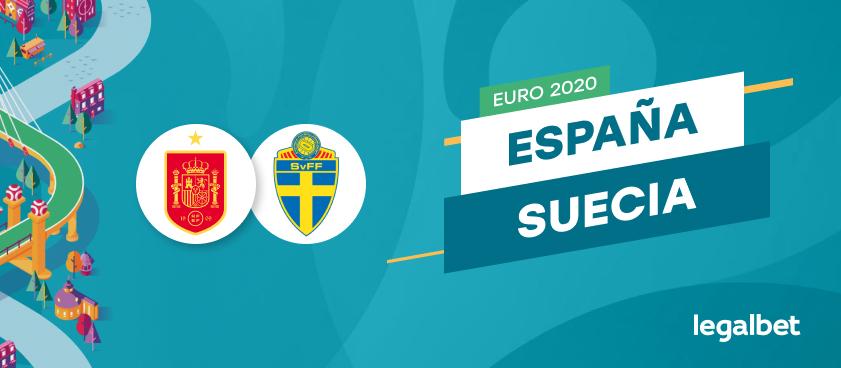 Apuestas y cuotas España - Suecia, EURO 2020