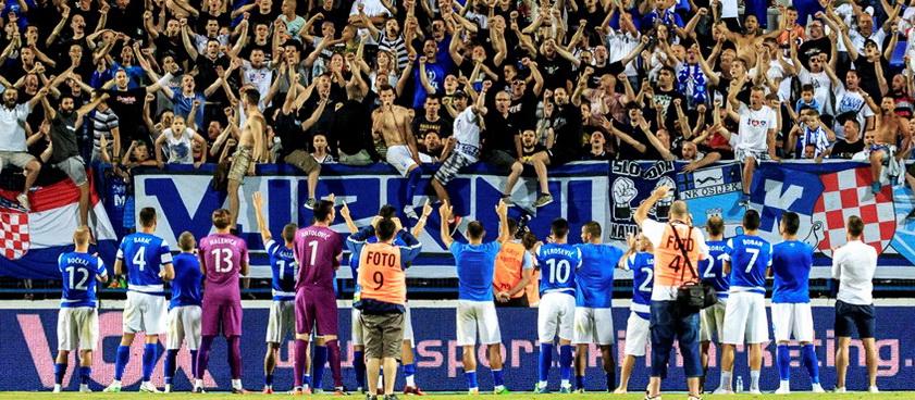 Dinamo Zagreb - Hajduk Split. Pontul lui Nica