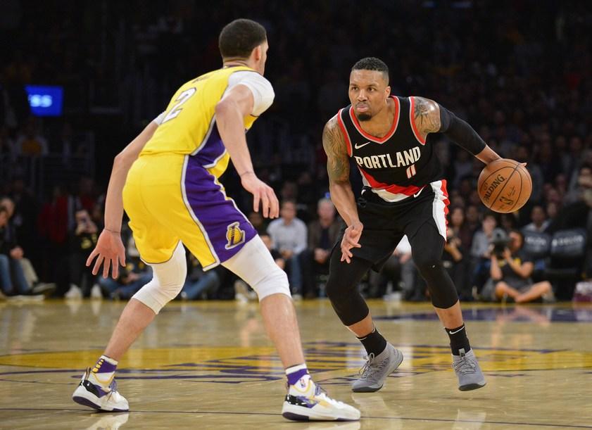 NBA: Регулярный сезон. Прогноз на матч Портленд - Лейкерс