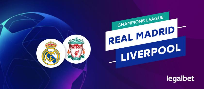 Apuestas Real Madrid - Liverpool
