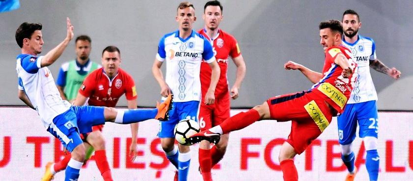 Universitatea Craiova - FC Botosani. Pontul lui Karbacher
