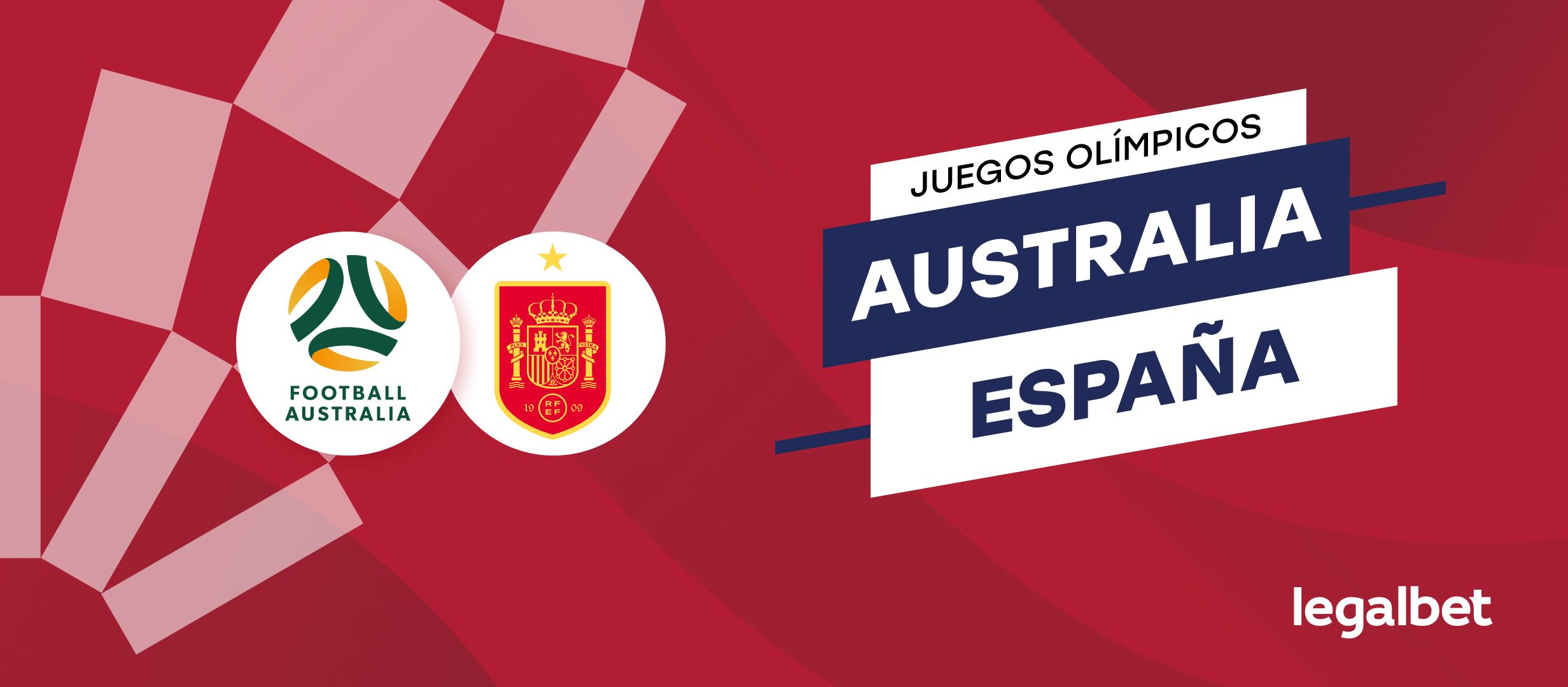 Apuestas y cuotas Australia - España, Juegos Olímpicos 2020