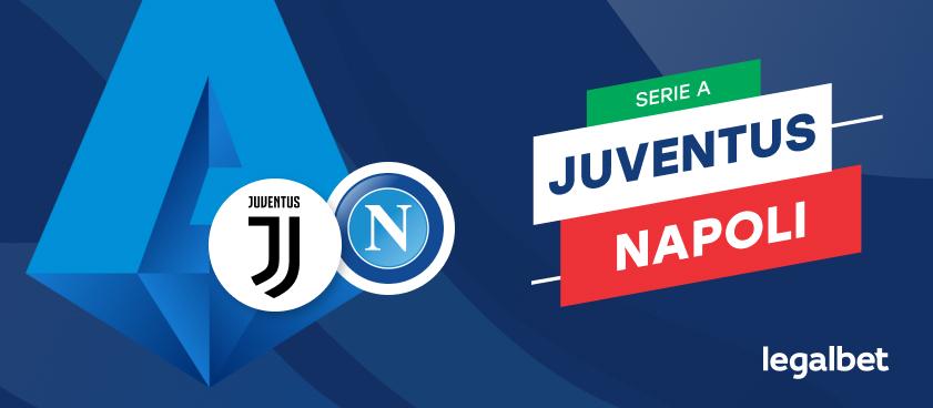 Apuestas y cuotas Juventus - Napoli, Serie A 2020/21