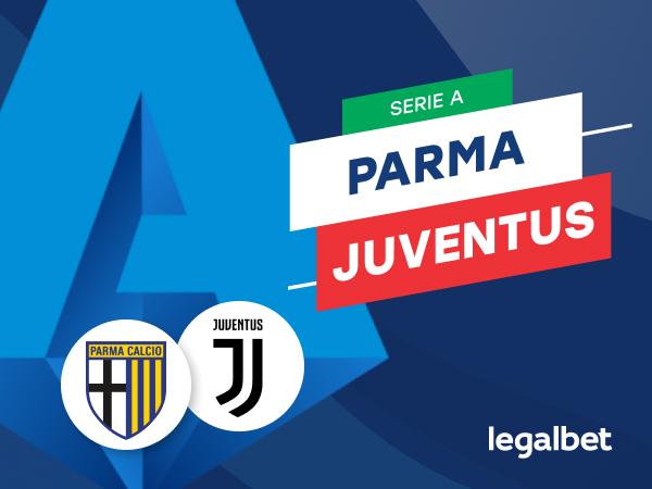 Mario Gago: Apuestas y cuotas Parma - Juventus, Serie A 2020/21.