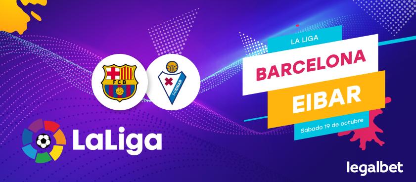 Previa Eibar - FC Barcelona, La Liga 2019