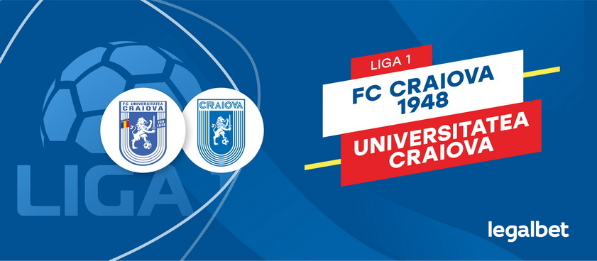 FC U Craiova - CS U Craiova: cote la pariuri si statistici