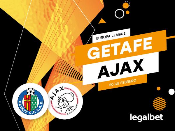 Antxon Pascual: Previa, análisis y apuestas Getafe - Ajax, Europa League 2020.