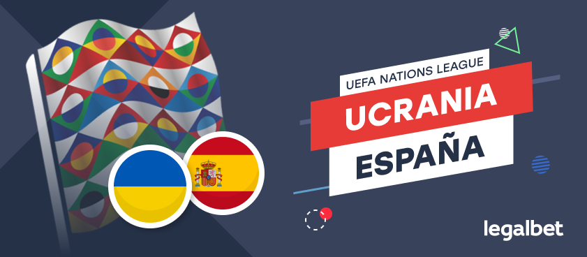 Apuestas y cuotas Ucrania - España, UEFA Nations League 2020
