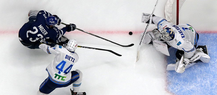 «Динамо» Москва – «Барыс»: прогноз на матч регулярного сезона КХЛ