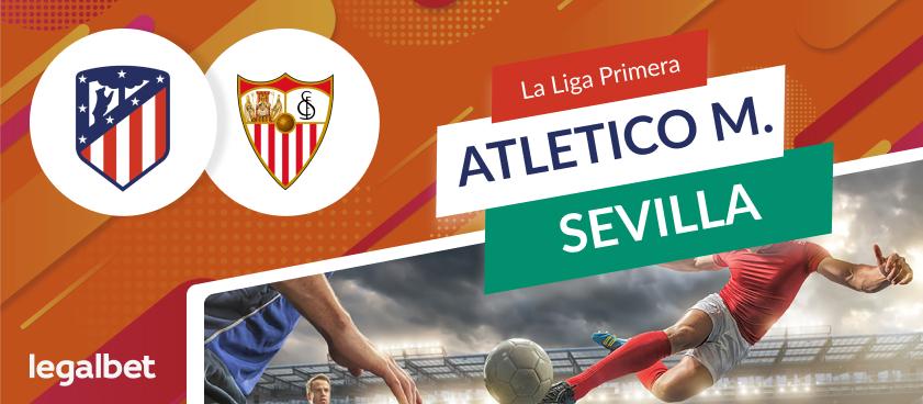 Apuestas Atlético de Madrid - Sevilla