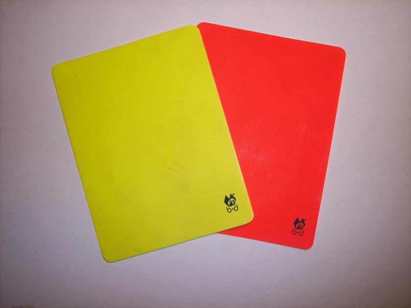 Повторная желтая карточка. Правила букмекерских контор.