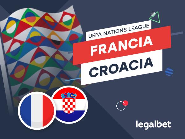 Antxon Pascual: Previa, análisis y apuestas Francia - Croacia, UEFA Nations League 2020.