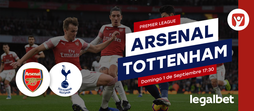 Previa Arsenal - Tottenham, Premier League 2019