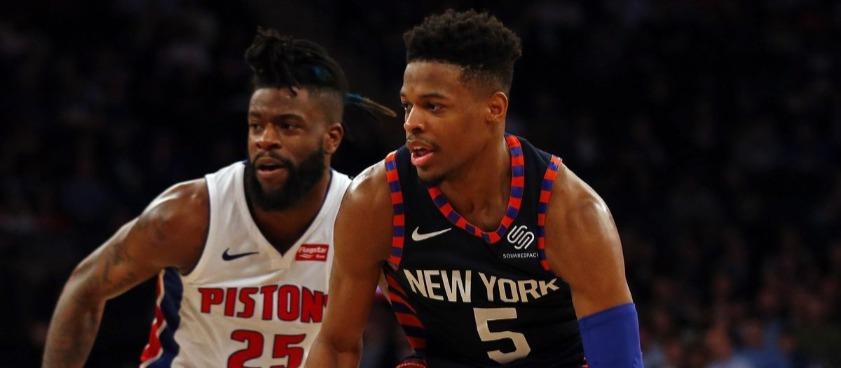 New York Knicks - Detroit Pistons: ένα προγνωστικό από τον Dude