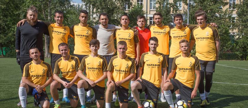 БК «Марафон» стала титульным спонсором команды Василия Уткина