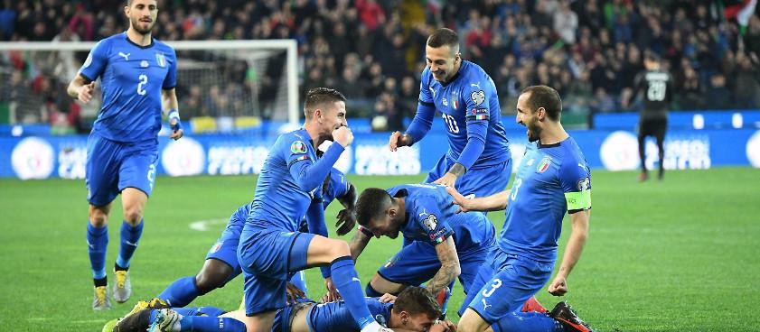 Italia, a una victoria de la Euro 2020
