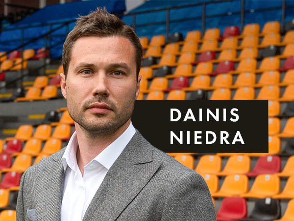 "Dainis Niedra: ""Now we are a part of the gigantic Entain machine!""."