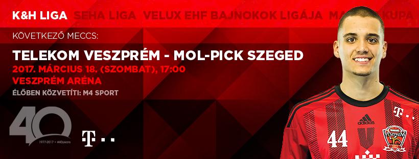 Derby maghiar cu iz de EHF Champions League (m): Veszprem - Pick Szeged