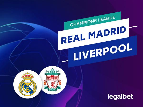 Antxon: Apuestas Real Madrid - Liverpool.