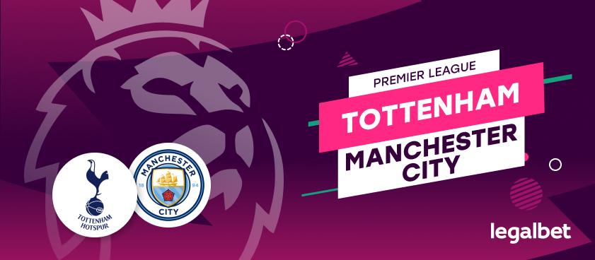 Apuestas y cuotas Tottenham - Manchester City, Premier League 2020/21