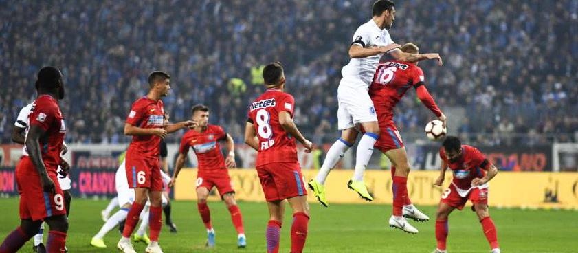 FCSB - U Craiova. Predictii sportive Liga 1 Betano