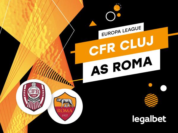 Karbacher: CFR Cluj - AS Roma: cote la pariuri şi statistici.