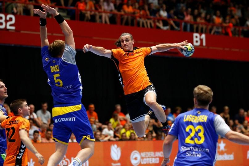 Гандбол. Мужчины. Чемпионат мира. Квалификация. Плей-офф. неуступчивые ,летучие голландцы...