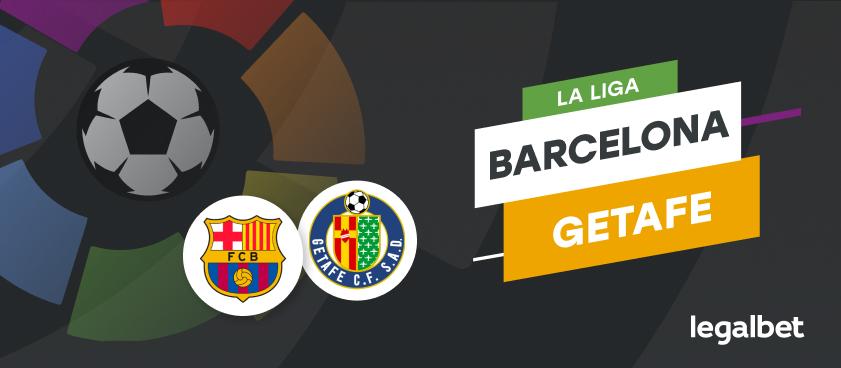Apuestas y cuotas Barcelona - Getafe, La Liga 2020/21