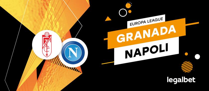 Apuestas y cuotas Granada - Napoli, Europa League 2020/21