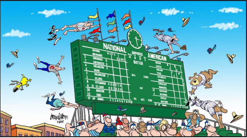 Стадион – участник бейсбольного матча. Влияние на тоталы и зависимость от погоды